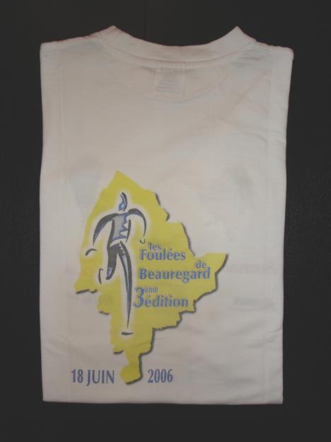 Cadeau Les foulées de Beauregard 2006