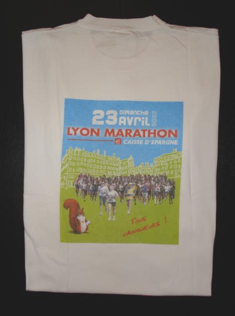 Cadeau Lyon Marathon 2006