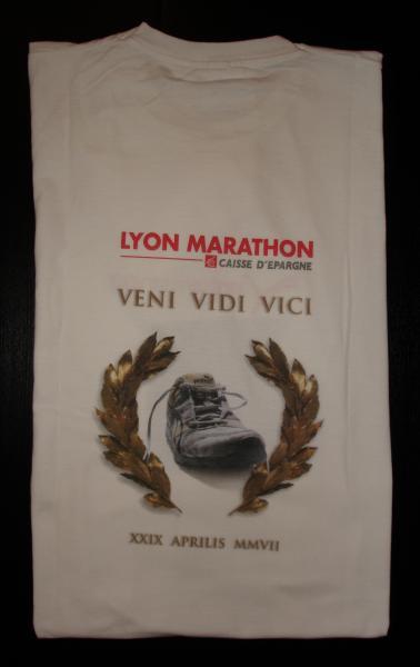 Cadeau Marathon de Lyon 2007