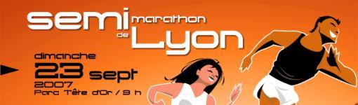 Semi Marathon de Lyon 2007