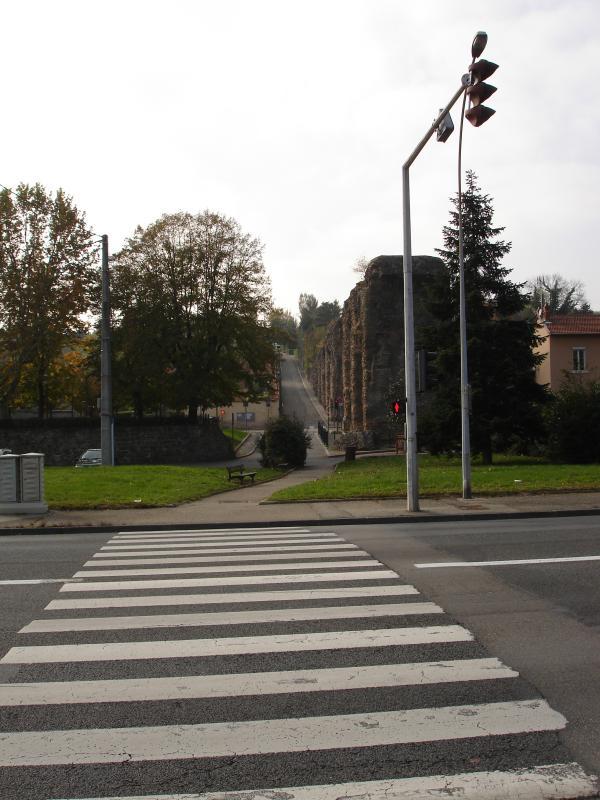 Chemin du Taffignon - Traversée de la D342
