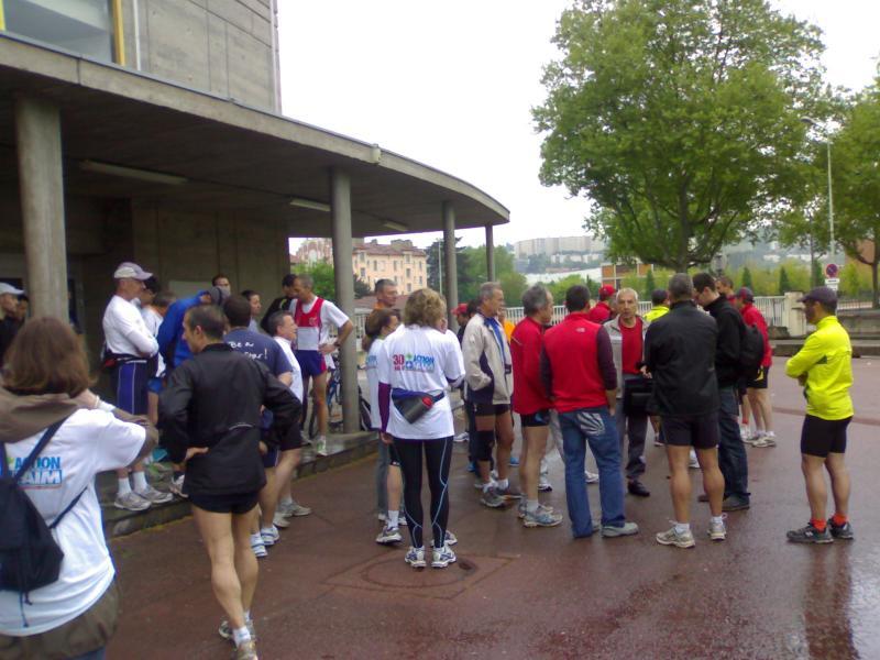 Lyon Marathon 2009 - Le rassemblement