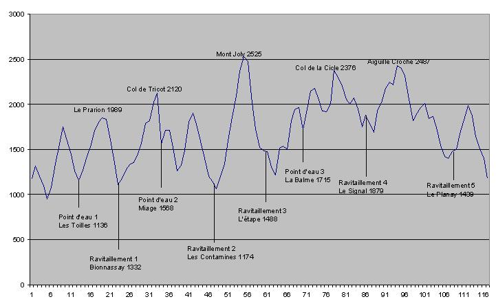 La Montagnhard 2009. Le profil