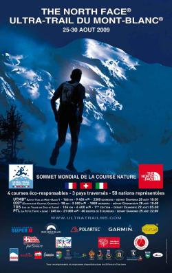 The North Face Ultra-Trail UTMB 2009 - Affiche