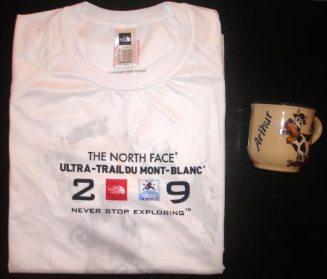 The North Face Ultra-Trail du Mont-Blanc 2009 - Cadeau