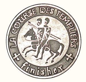 La Grande Course des Templiers 2009, la médaille