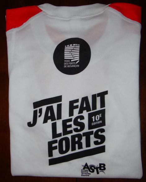 Le Trail des Forts de Besançon 2013 - Cadeau